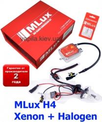 Ксенон MLux H4 ксенон + галоген
