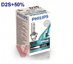 Ксеноновые лампы D2S Philips Xenon X-tremeVision NEW