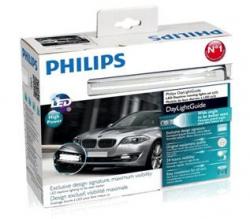 Дневные ходовые огни Philips LED Day Light Guide 12825WLEDX1 New!!!