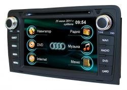 Штатная магнитола Audi A3 2005 RoadRover с GPS
