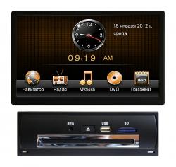 Штатная магнитола Audi A4 B8 2007, A5, Q5 2008 + RoadRover с GPS
